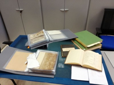 First survey of the photographic and textual archive of the Egyptologist James Quibell (Milan)