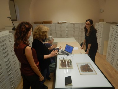 Mission to the Egyptian Museum (Turin) in order to plan archaeometric analyses of the Coptic codices