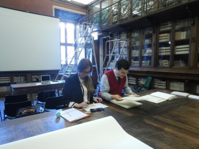 Mission to the Biblioteca Corsiniana (Rome) for codicological analysis of the Coptic manuscripts