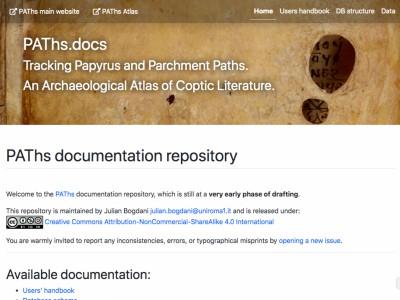 Archaeological Atlas of Coptic Literature - Data and Documentation Portal